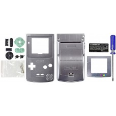Game Boy Color [GBC] Replacement Shell [Silver]